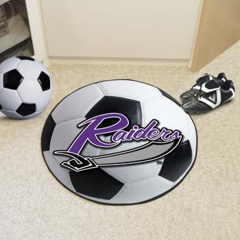 "27"" University of Mount Union Soccer Ball Round Mat"