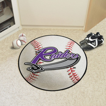 "27"" University of Mount Union Baseball Style Round Mat"