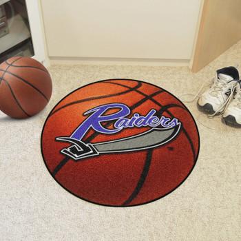 "27"" University of Mount Union Basketball Style Round Mat"