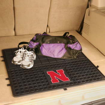 "31"" University of Nebraska Heavy Duty Vinyl Cargo Trunk Mat"