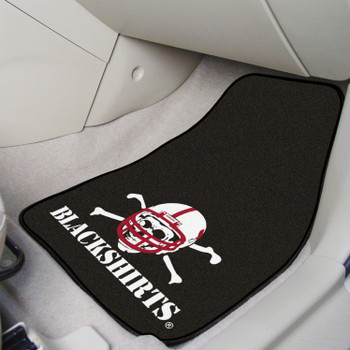 University of Nebraska Blackshirts Carpet Car Mat, Set of 2