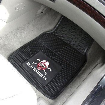 University of Nebraska Heavy Duty Vinyl Front Car Mat, Set of 2