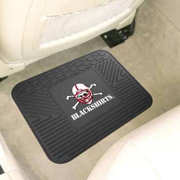 "14"" x 17"" University of Nebraska Blackshirts Logo Utility Mat"
