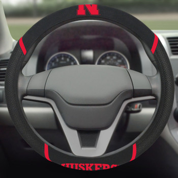 University of Nebraska Steering Wheel Cover