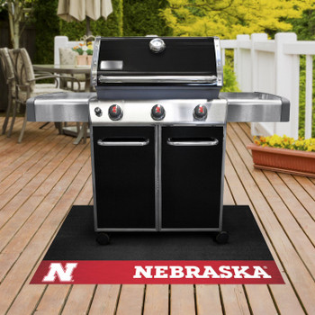 "26"" x 42"" University of Nebraska Grill Mat"