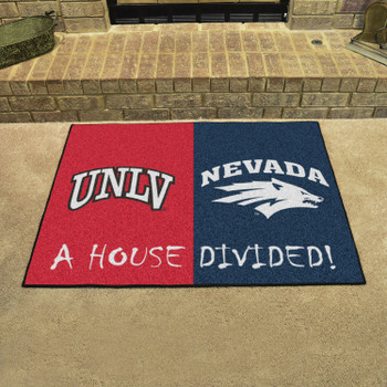 "33.75"" x 42.5"" UNLV / Nevada House Divided Rectangle Mat"