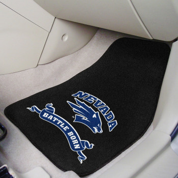 University of Nevada Carpet Car Mat, Set of 2