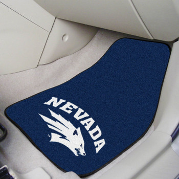 University of Nevada Wolf Pack Carpet Car Mat, Set of 2