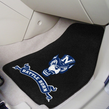 University of Nevada Battle Born Carpet Car Mat, Set of 2