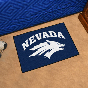 "19"" x 30"" University of Nevada Rectangle Starter Mat"