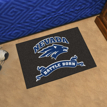 "19"" x 30"" University of Nevada Battle Born Rectangle Starter Mat"
