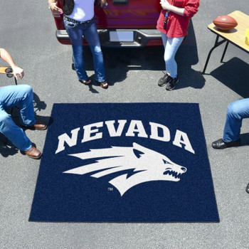 "59.5"" x 71"" University of Nevada Navy Blue Tailgater Mat"