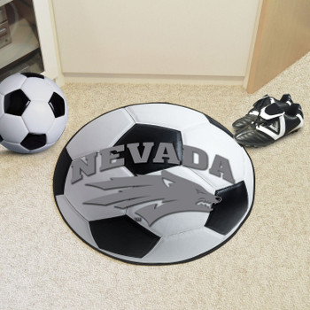 "27"" University of Nevada Soccer Ball Round Mat"
