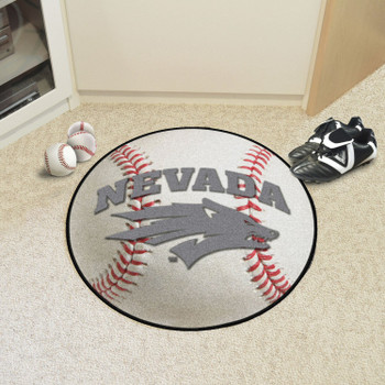"27"" University of Nevada Baseball Style Round Mat"