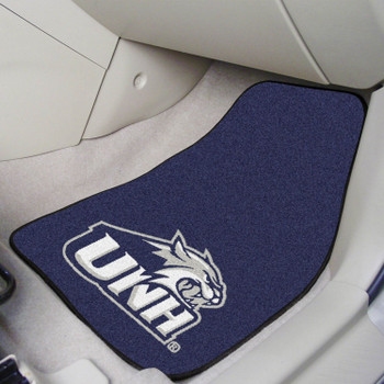 University of New Hampshire Carpet Car Mat, Set of 2