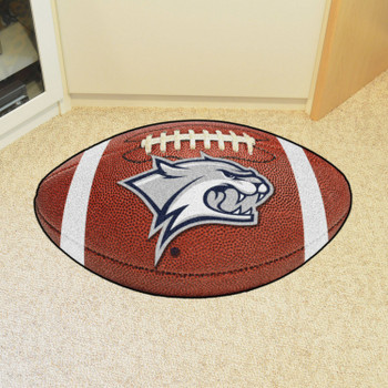 "20.5"" x 32.5"" University of New Hampshire Football Shape Mat"