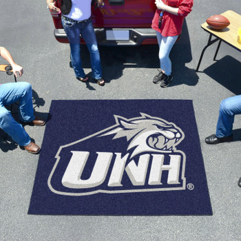 "59.5"" x 71"" University of New Hampshire Navy Blue Tailgater Mat"