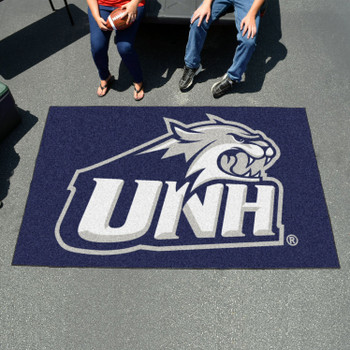 "59.5"" x 94.5"" University of New Hampshire Navy Blue Rectangle Ulti Mat"