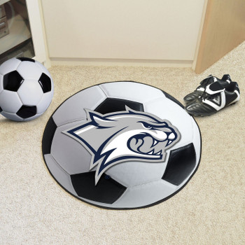 "27"" University of New Hampshire Soccer Ball Round Mat"