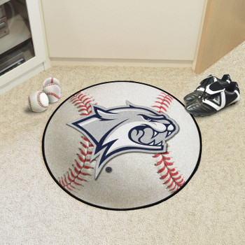 "27"" University of New Hampshire Baseball Style Round Mat"