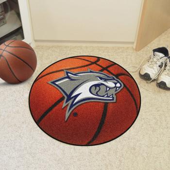"27"" University of New Hampshire Basketball Style Round Mat"