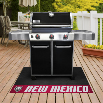"26"" x 42"" University of New Mexico Grill Mat"