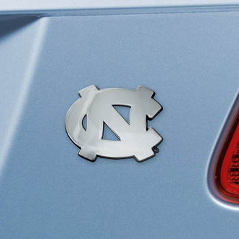 University of North Carolina Chrome Emblem, Set of 2