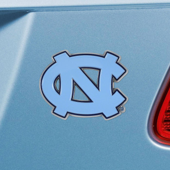 University of North Carolina Blue Color Emblem, Set of 2