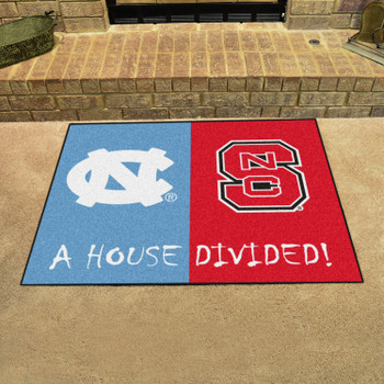 "33.75"" x 42.5"" North Carolina / NC State House Divided Rectangle Mat"