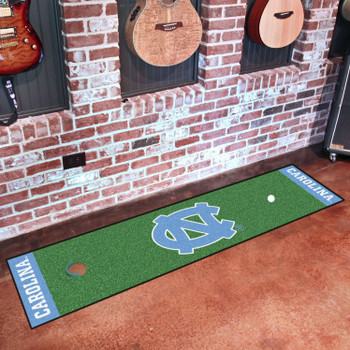 "18"" x 72"" University of North Carolina Putting Green Runner Mat"