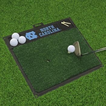 "20"" x 17"" University of North Carolina Golf Hitting Mat"