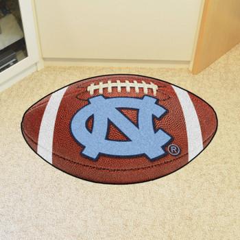 "20.5"" x 32.5"" University of North Carolina Football Shape Mat"