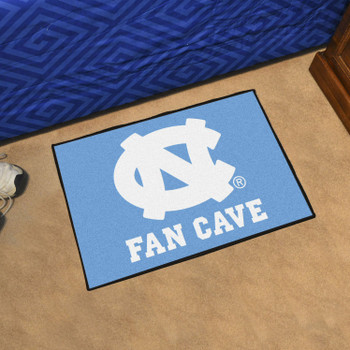 University of North Carolina Fan Cave Starter Blue Rectangle Mat