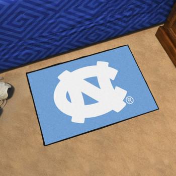 "19"" x 30"" University of North Carolina Blue Rectangle Starter Mat"