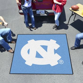 "59.5"" x 71"" University of North Carolina Blue Tailgater Mat"