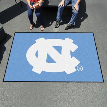 "59.5"" x 94.5"" University of North Carolina Blue Rectangle Ulti Mat"