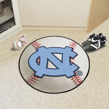 "27"" University of North Carolina Baseball Style Round Mat"