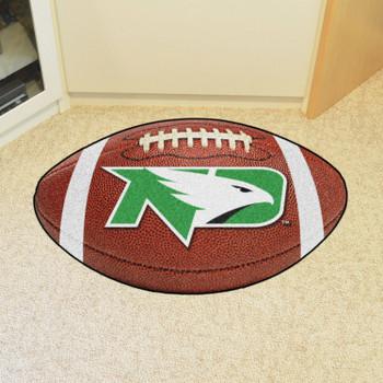 "20.5"" x 32.5"" University of North Dakota Football Shape Mat"