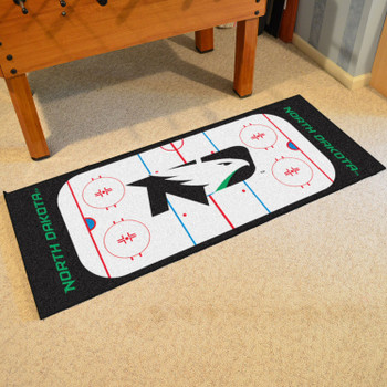 "30"" x 72"" University of North Dakota Rink Runner Mat"