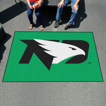 "59.5"" x 94.5"" University of North Dakota Green Rectangle Ulti Mat"