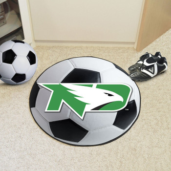 "27"" University of North Dakota Soccer Ball Round Mat"