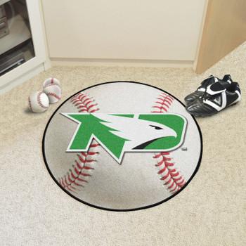 "27"" University of North Dakota Baseball Style Round Mat"