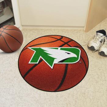 "27"" University of North Dakota Basketball Style Round Mat"