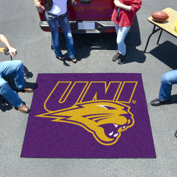 "59.5"" x 71"" University of Northern Iowa Purple Tailgater Mat"