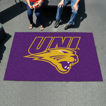 "59.5"" x 94.5"" University of Northern Iowa Purple Rectangle Ulti Mat"