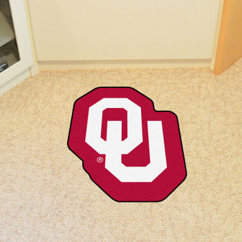 "University of Oklahoma Mascot Mat - ""OU"" Logo"