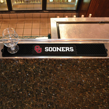 University of Oklahoma Vinyl Drink Mat