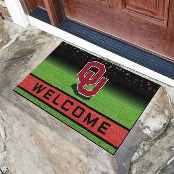 "18"" x 30"" University of Oklahoma Crumb Rubber Door Mat"