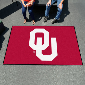 "59.5"" x 94.5"" University of Oklahoma Red Rectangle Ulti Mat"