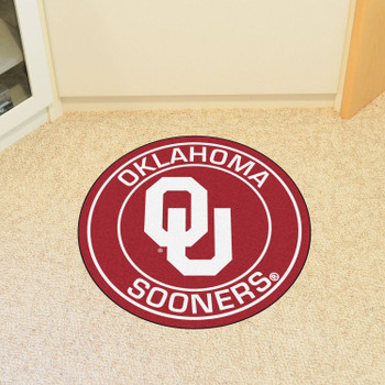 "27"" University of Oklahoma Roundel Round Mat"